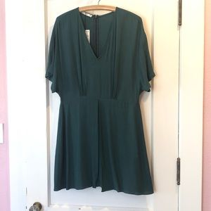 🌳🌀NWT Forest Green MNG Dress Sz 10🌀🌳